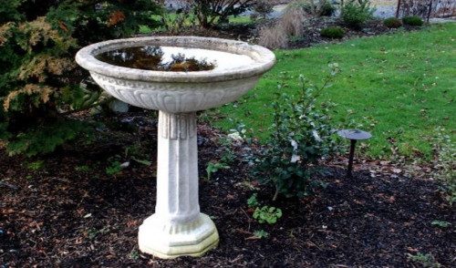Winterize Your Bird Baths