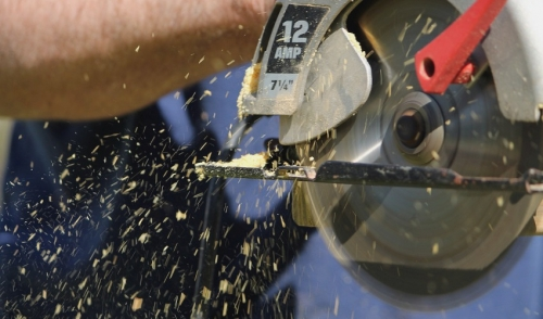 Four Steps To Using A Circular Saw