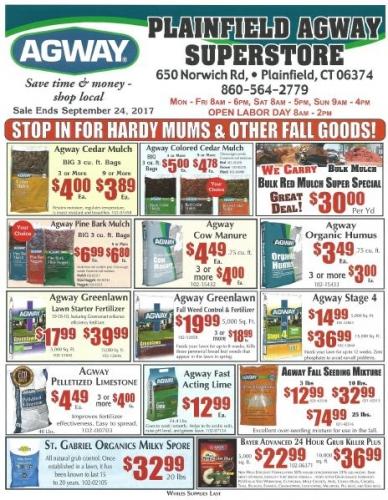 September Sales Flyer