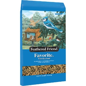 Feathered Friend Favorite Bird Seed 40lb $17.99