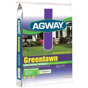 Agway Greenlawn Lawn Starter Fertilizer 5m $17.99