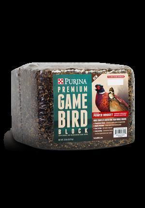 Purina Game Bird Block $12.87