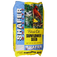 Shafer Sunflower Black Oil 50lb. Bag $19.97