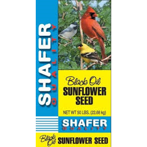 Shafer Sunflower Black Oil 25 Pound Bag $10.76