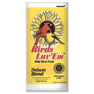 Birds Luv'em Deluxe Blend 50 Pound Bag $16.87