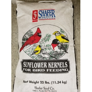 Shafer Sunflower Kernels 25 Pound Bag $23.45