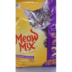 Meow Mix Cat Food 16 Pound Bag $9.19