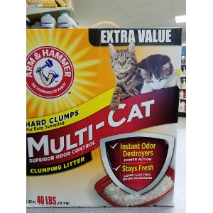 Arm and Hammer 40 lb Litter Only $14.87