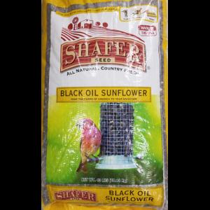 Shafer Sunflower Black Oil 40 Pound Bag $15.78