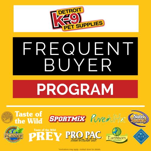 Detroit K-9 Loyalty Rewards Program