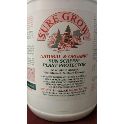 Sure Grow Natural & Organic Sun Screen Plant Protector