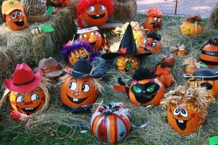 10/16: Pumpkin Painting