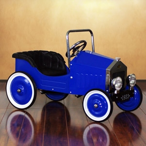 Dexton Kids Voiture Classic Blue Pedal Car for Kids