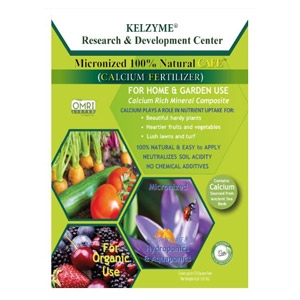 Kelzyme 100% Natural CAFE™ Micronized Soil Fertilizer for Home and Garden Use