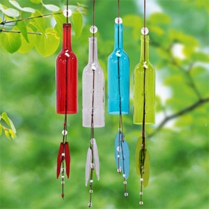 Alpine Bottle Windchimes