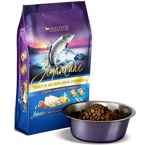Zignature Trout & Salmon Meal Formula for Dogs 13.5 Pound