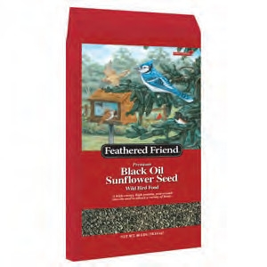 Feathered Friend Black Oil 40lb $19.99