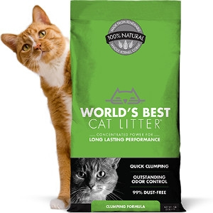$5 Off Worlds Best Cat Litter Clumping 28lb