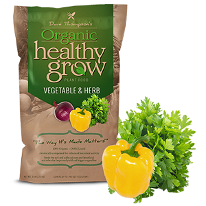 Dave Thompson's Organic Healthy Grow Vegetable and Herb 3-5-3 3lb