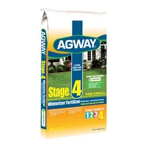 Agway Stage 4 Winterizer Fertilizer 5M $15.99