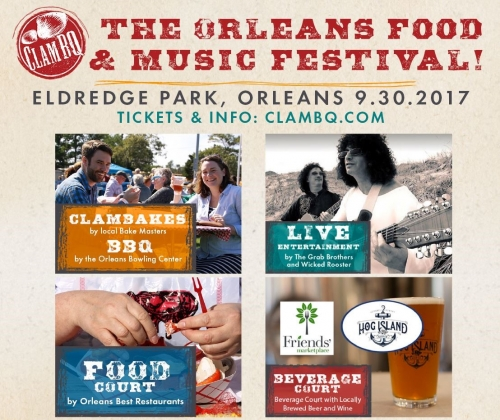 ClamBQ! The Orleans Food & Music Festival