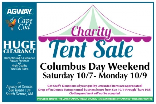 Charity Tent Sale