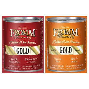 Fromm 12.2oz Dog Food Cans- Buy 3, Get 1 Free