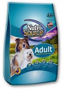 NutriSource Adult Chicken & Rice Dog Food $35.99
