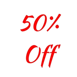 50% Off All Nursery Stock