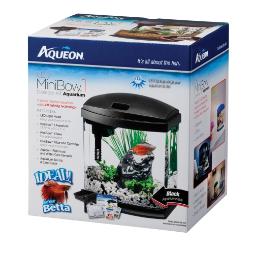 FREE Betta with Purchase of Aqueon MiniBow 1
