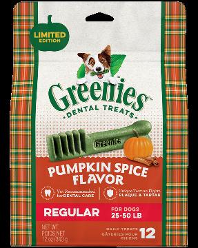 25% Off Pumpkin Spice Greenies