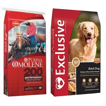 $16 off w/ Exclusive Dog Food & Purina Horse Feed