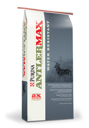 $2 off 50# bag AntlerMax Deer Feed