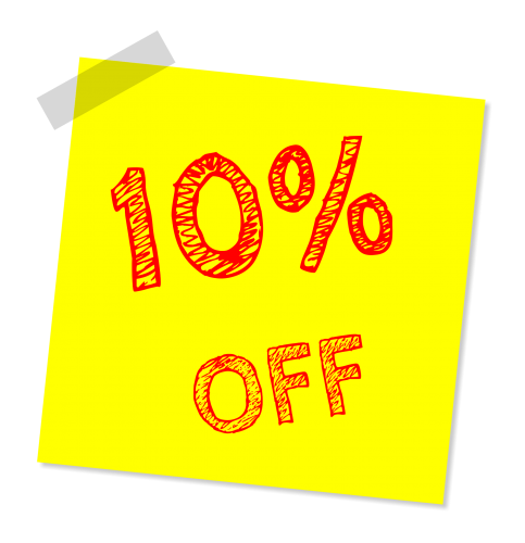 Wednesday Special: 10% Off Saltwater Fish