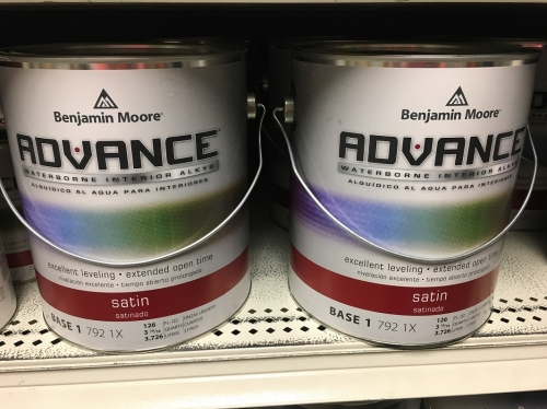 Chace Building Supply Of Connecticut Inc Advance Interior Paint Satin Woodstock Ct