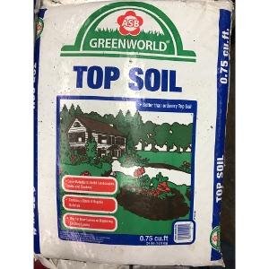 ASB Greenworld Top Soil .75cf Bags- 10/$15