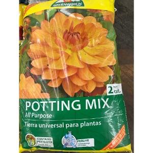 ASB Greenworld Potting Mix 2cf Bags $7.99/each