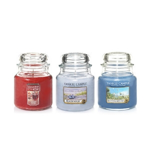 25% Off All 14.5oz Yankee Candle Jars