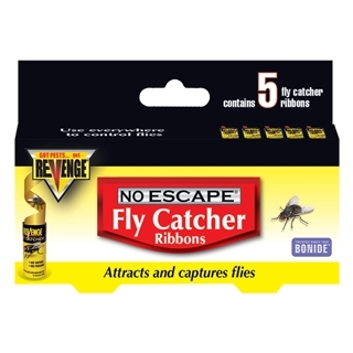 Revenge No Escape Fly Catcher Ribbons 5Pk $1.75