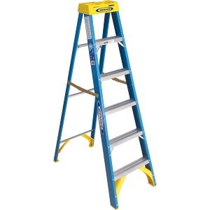Werner Type I Fiberglass Step Ladder 8 ft.