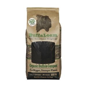 Organic Buffalo Compost 8lb. Bag - Buffaloam