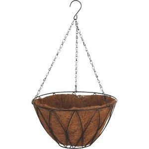 Best Garden Contemporary Hanging Plant Basket 12