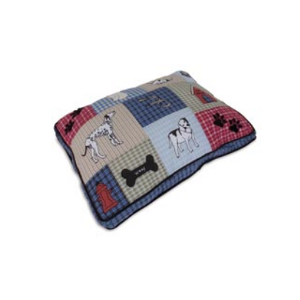 Aspen Pet Quilted Classic Appliqué Gusseted Bed