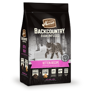 Merrick Backcounty Raw Infused Kitten Recipe 3lb