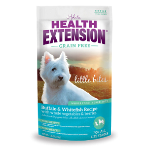 Health Extension Grain Free Buffalo & Whitefish Little Bites 4lb
