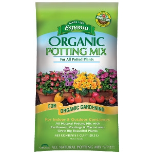 Espoma Organic Potting Mix 1 cu. ft. $6.99