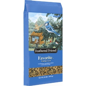 Feathered Friend Favorite Birdseed 20lb $8.99