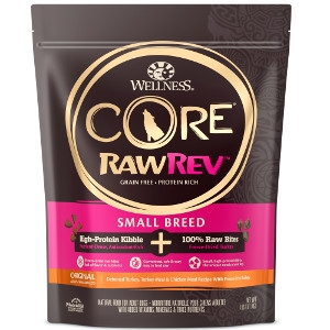 CORE RawRev GF Small Breed Turkey 4lb $19.99