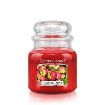 Macintosh Apple Country Candle, 16 oz. Jar