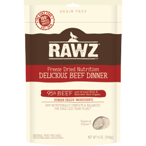 Freeze Dried Dog Food - Delicious Beef Dinner